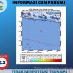 Gempa 5,2 SR, BPBD Blitar: Belum Ada Laporan Kerusakan