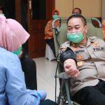 Stok PMI Menipis Imbas Covid-19, Polda Jatim Gelar Aksi Donasi Darah