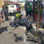 Dua Sepeda Motor Adu Banteng di Banyuwangi, Dua Pengendara Luka Berat