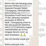 Beredar Kabar Dokter Positif Covid-19 di Tulungagung, Begini Kata Satgas