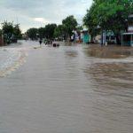 Hujan Deras di Pasuruan 4 Kecamatan Terendam Banjir