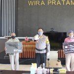 Polresta Banyuwangi Launching Program Peduli Keselamatan Via Teleconference