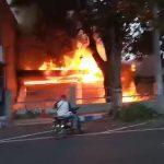 Gudang Mebel di Kota Pasuruan Ludes Terbakar