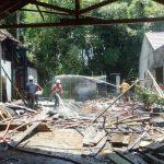 Gudang Kayu di Pemukiman Padat Penduduk di Tulungagung Terbakar