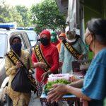 Peringati Hari Kartini, Polwan Polres Blitar Kota Bagikan 200 Paket Sembako