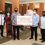 Plt Walikota Terima Bantuan APD Dari Pertamina
