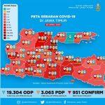 3 Hari PSBB di Surabaya-Sidoarjo-Gresik, Kasus Positif Corona Bertambah 54 Pasien