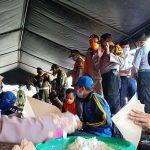 Minimalisir Dampak Pandemi, Dapur Peduli Covid-19 Sumenep Bagikan Seribuan Nasi Bungkus Gratis