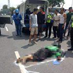 Kecelakaan di Krian Sidoarjo, Dua Orang Tewas