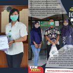 KFM Peduli Bagikan APD di RSUD Ploso dan RSK Mojowarno Jombang