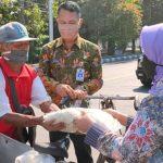 Perangi Covid-19, Pemkab Jombang dan KORPRI 400 Kantong Beras di 4 Wilayah