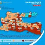 Makin Melambat, Berikut Update Corona di Jawa Timur Per Rabu 1 April 2020