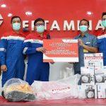SKK Migas Salurkan Bantuan untuk Wilayah Terdampak Covid-19