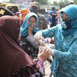 Banyak Warga Enggan Pakai Masker, Ketua PKK Kabupaten Pasuruan Turun Jalan