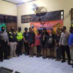 Covid-19, Nongkrong Hingga Larut Malam Belasan ABG di Jombang Diamankan
