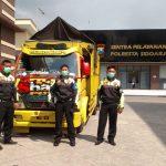Patroli Sisir Jalan Tol, Petugas PJR Polda Jatim Tangkap Pencuri Selai di Sidoarjo