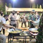 Covid-19, TNI Polri di Jombang Dirikan Dapur Umum