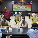 Antisipasi Menipisnya Stok Darah, Polres Ngawi Gelar Donor Darah