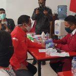 Penuhi Stok PMI, DPC PDI Perjuangan Kabupaten Pasuruan Gelar Donor Darah