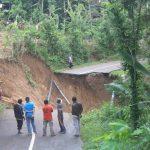 Longsor, Jalan Utama Antar Kecamatan di Trenggalek Terputus