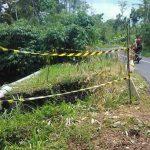 Tebing Penahan Jalan Desa Curah Mayit Lumajang Longsor, Intai Pengguna Jalan