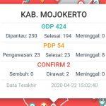 Pasien Positif Covid-19 Kabupaten Mojokerto Bertambah Jadi Dua Orang