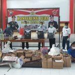 Operasi Pekat Dua Pekan, Polres Blitar Kota Bongkar Ratusan Kasus Kejahatan