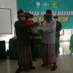 Cegah Covid-19, PCNU Nganjuk Kumpulkan 100 Ribu Masker untuk Dibagi Gratis