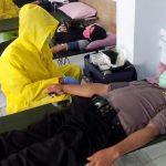 Jaga Stok Darah PMI, Ratusan Personel Polres Trenggalek Donor