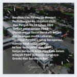 PSBB dan Larangan Mudik, Terminal Purabaya dan Osowilangon Tak Layani Bus Luar Kota