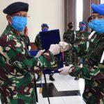 Ikuti Sespimti, Danpusdikpomal Serahkan Jabatan saat Pandemi Covid-19