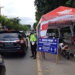 Jelang PSBB, Kendaraan Keluar Masuk Gresik Diperiksa Polisi