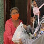 Covid 19, Polres Blitar Kota Salurkan 2.000 Sembako ke Warga Terdampak