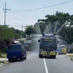 Cegah Covid-19, Penyemprotan Disinfektan di Kabupaten Pasuruan Terus Dilakukan