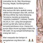 Viral Cluster Jabalsari Tulungagung Menyebar ke Sejumlah Desa, Gugus Tugas: Hoaks!