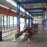Larangan Bus Masuk Wilayah PSBB, Terminal Gayatri Tulungagung Sepi