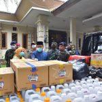 Cegah Covid-19, Paguyuban TNI AL Naval Base Bantu APD GTPPC Lamongan