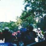 Video Gerombolan Pesepeda Motor Rusak Bilik Disinfektan di Lamongan