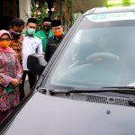 Edukasi Masyarakat, Bupati Jombang Launching Mobil Siaga Covid-19