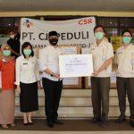 Pemkot Pasuruan Terima Bantuan APD dari PT Cheil Jedang