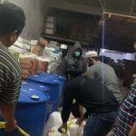 Geledah Toko SR, Polisi Temukan Puluhan Liter Alkohol 90%