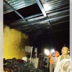 Rumah Mbok Bosina di Pronojiwo Lumajang Ludes Terbakar