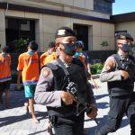 Komplotan Begal yang Pukul Korban Pakai Paving di Sidoarjo Tertangkap