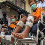 Komplotan Curanmor Lempar Bondet Saat Ditangkap, Polresta Mojokerto Tembak Tiga Pelaku