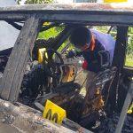 Tim Labfor Cabang Surabaya Selidiki Asal Api di Mobil yang Menewaskan Dua Balita