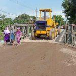 Tunggu Perbaikan, BBJN Buatkan Jembatan Bailey di Kedungasem Kota Probolinggo