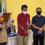 Kawal Bantuan Covid-19, Bupati Mundjidah Wahab Kunjungi Desa Kepatihan Jombang