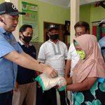 666 Warga Dua Kelurahan di Kota Probolinggo, Terima Sembako dari Pihak Swasta