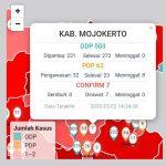 Pasien Positif Covid-19 ke-7 di Kabupaten Mojokerto Istri Petugas Kesehatan Haji