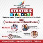 Bangun Sinergi, AMSI Gelar Dialog 100 Pemred dengan Gubernur Jatim